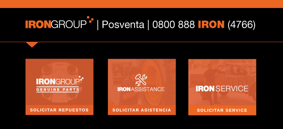 Posventa | 0800 888 IRON(4766)